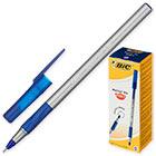 Ручка шариковая неавтоматическая масляная BIC Round Stic Exact синяя (толщина линии 0.35 мм)